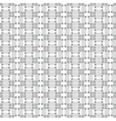 Seamless textile quilt pattern vector image