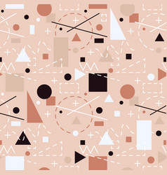abstract background with geometric shapes and vector image