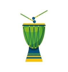 Brazilian culture design vector