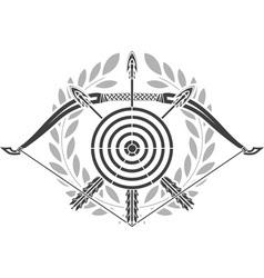 Glory archery vector