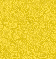 Golden abstract seamless pattern background vector