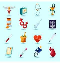 Medical Icon Set vector image