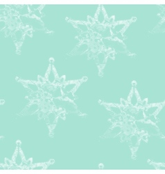 seamless background with graceful engraving vector image