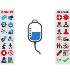 Therapy Dropper Icon vector