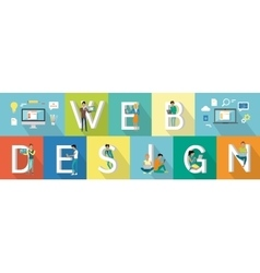 Web Design Banner vector