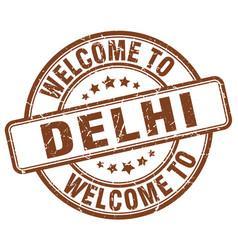 Welcome to delhi vector