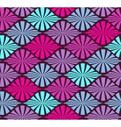 abstract color seamless geometric pattern vector image vector image