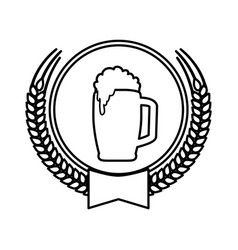 beer and brewery vector image
