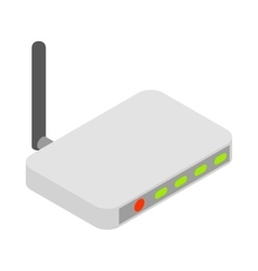 Router icon cartoon style vector image vector image