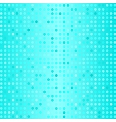 Set of Halftone Dots Dots on Azure Background vector image vector image