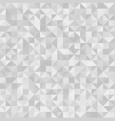 Abstract background gray triangles vector