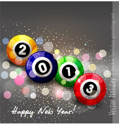 abstract New Year background vector image