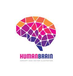 creative idea - business logo template vector image