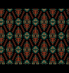 Ethnic style seamless pattern vector