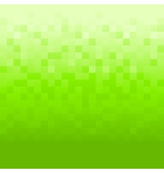 Green background with pixels vector