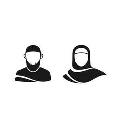 Muslim-icons vector