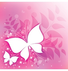 pink abstract vector image vector image