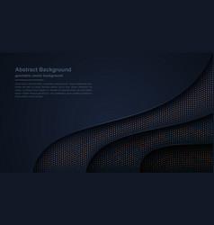 textured and wavy luxury dark background vector image