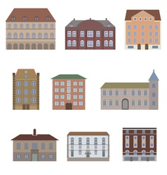 houseset3 vector image