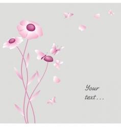 flower petals vector image
