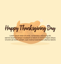 Background thanksgiving day style vector