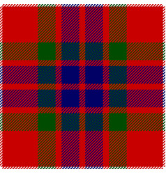 Clan fraser scottish tartan plaid seamless pattern vector
