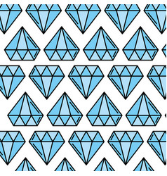 Luxury diamond pattern background vector