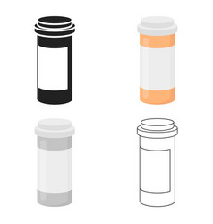 Medicines icon cartoon single medicine icon from vector
