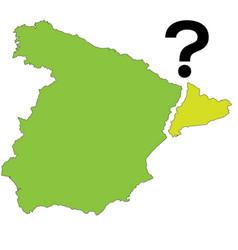 referendum spain - catalonia vector image