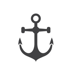 sea anchor icon vector image