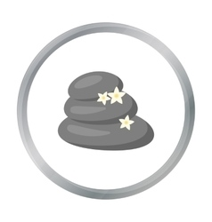 Spa stone icon of for web and vector image