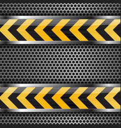 Under construction background black yellow vector