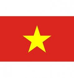 Vietnam flag vector