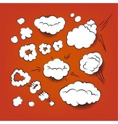 Comic Bubbles Bubbles vector image vector image