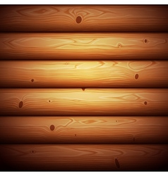 Wooden Timbered Wall Seamless Background vector image