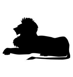 lion symbol of power vector image vector image