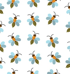 Bees seamless texture Bees background wallpaper vector