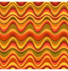 Geometric seamless desert dune pattern vector