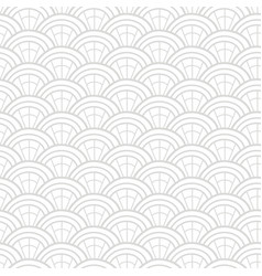 japanese chinese asian geometric seamless pattern vector image
