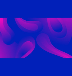 liquid gradient shapes abstract background trendy vector image