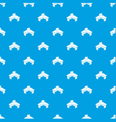 office table pattern seamless blue vector image