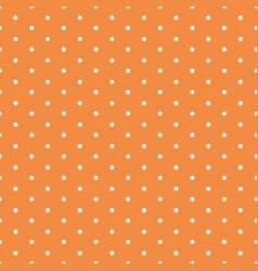seamless background with polka dot ornament vector image