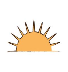 Sun sunny day picnic vector