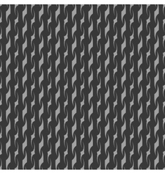 Wave line gray seamless pattern vector