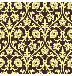 Retro wallpaper seamless vector image vector image