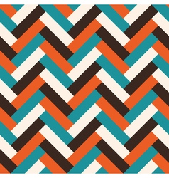 Abstract tile pattern vector image
