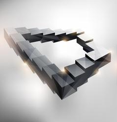 Endless staircase vector