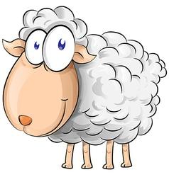 sheep cartoon vector image