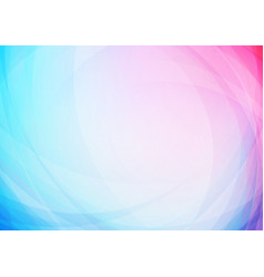 abstract curved colors background vector image