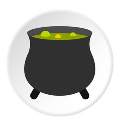 Boiler sorcerer icon circle vector